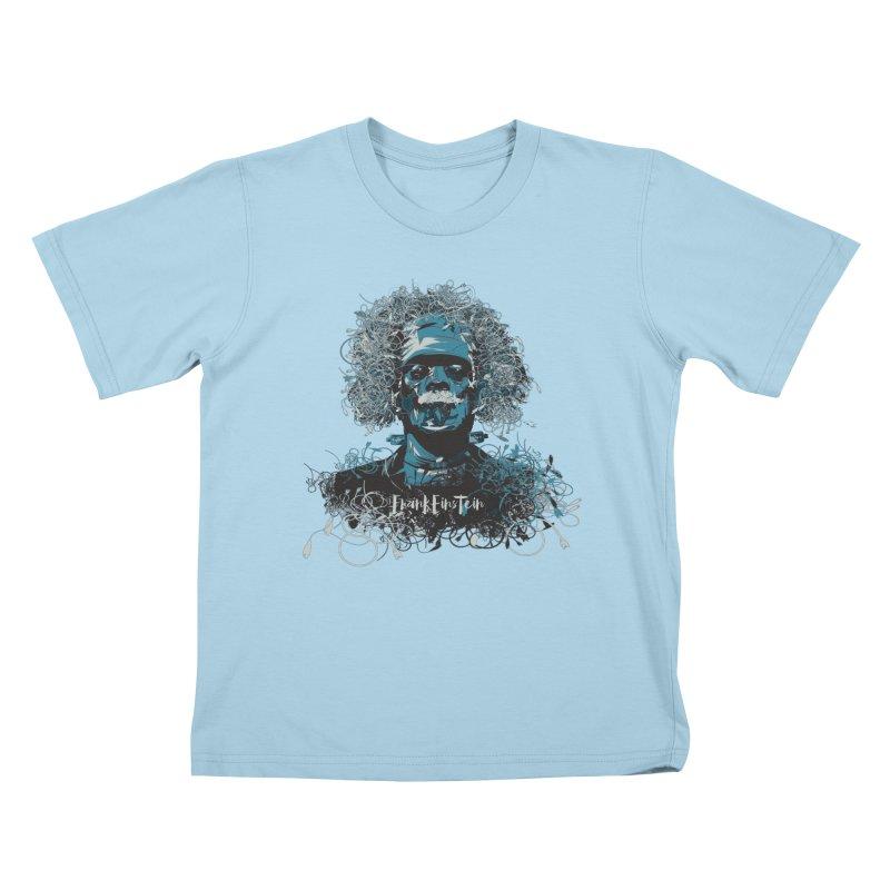 Frank Einstein Kids T-shirt by grafismo's Artist Shop