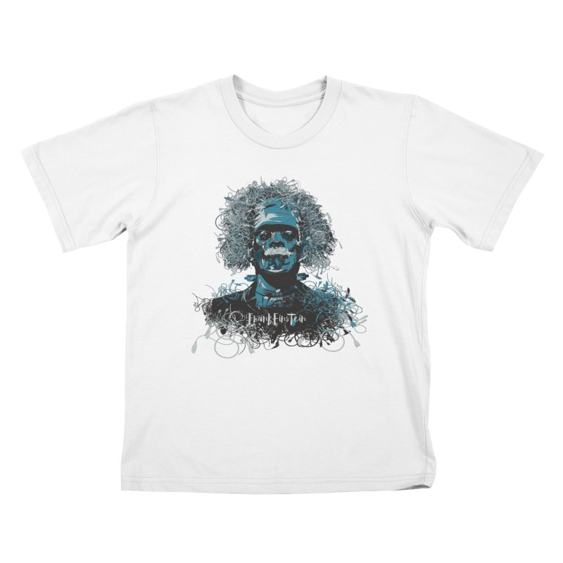 Frank Einstein Kids T-Shirt by grafismo's Artist Shop