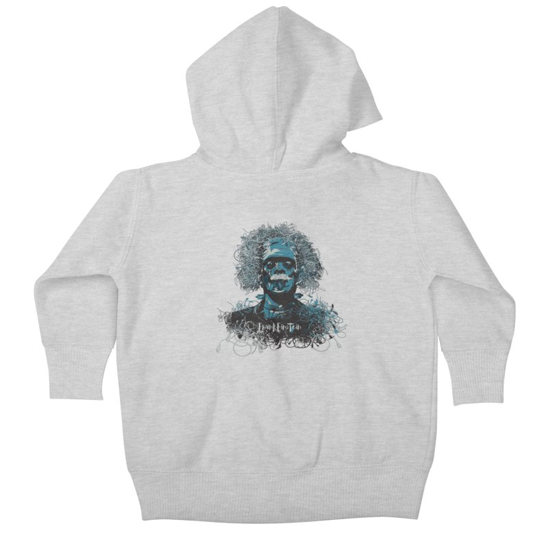 Frank Einstein Kids Baby Zip-Up Hoody by grafismo's Artist Shop