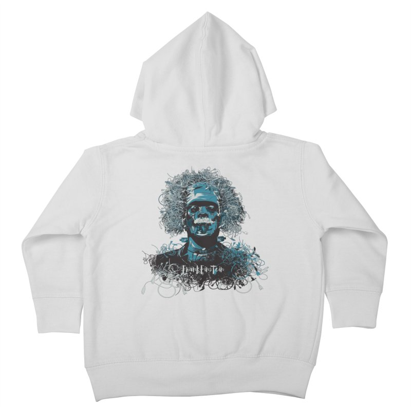 Frank Einstein Kids Toddler Zip-Up Hoody by grafismo's Artist Shop