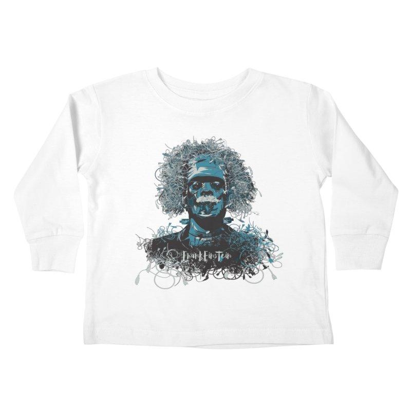 Frank Einstein Kids Toddler Longsleeve T-Shirt by grafismo's Artist Shop