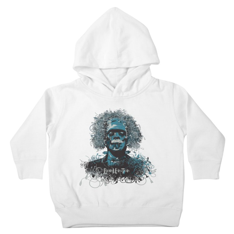 Frank Einstein Kids Toddler Pullover Hoody by grafismo's Artist Shop