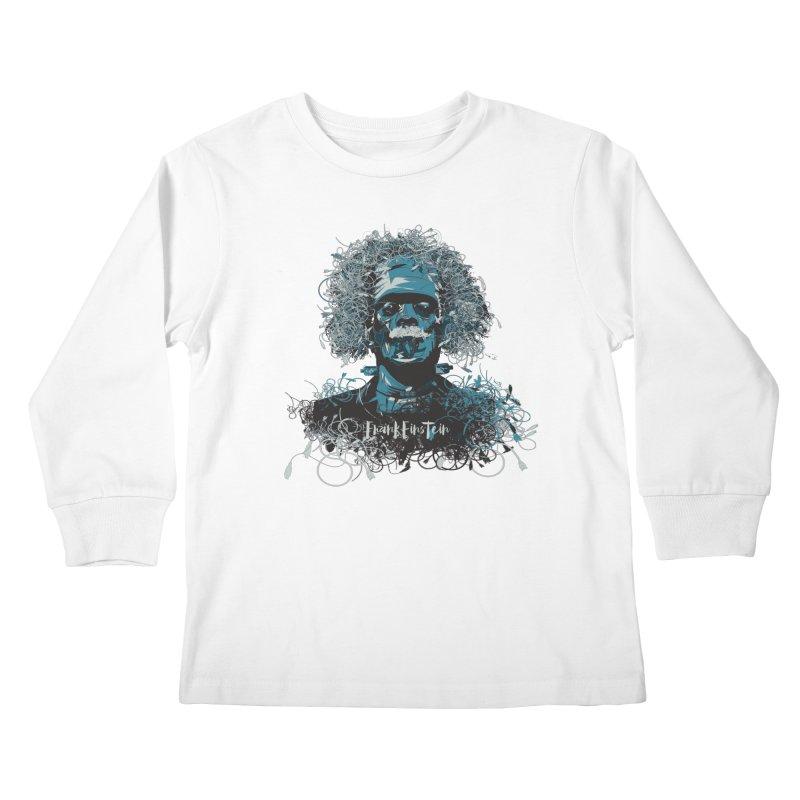 Frank Einstein Kids Longsleeve T-Shirt by grafismo's Artist Shop