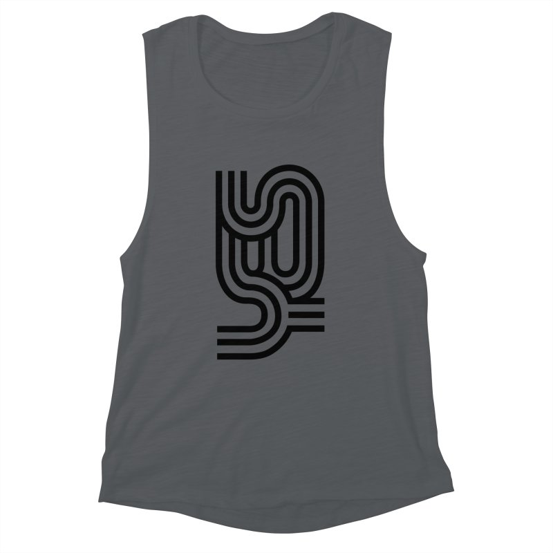 Yes Cool Typo | Black Design Women's Tank by GRAFIXD'S SHOP