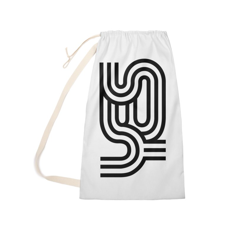 Yes Cool Typo | Black Design Accessories Bag by GRAFIXD'S SHOP