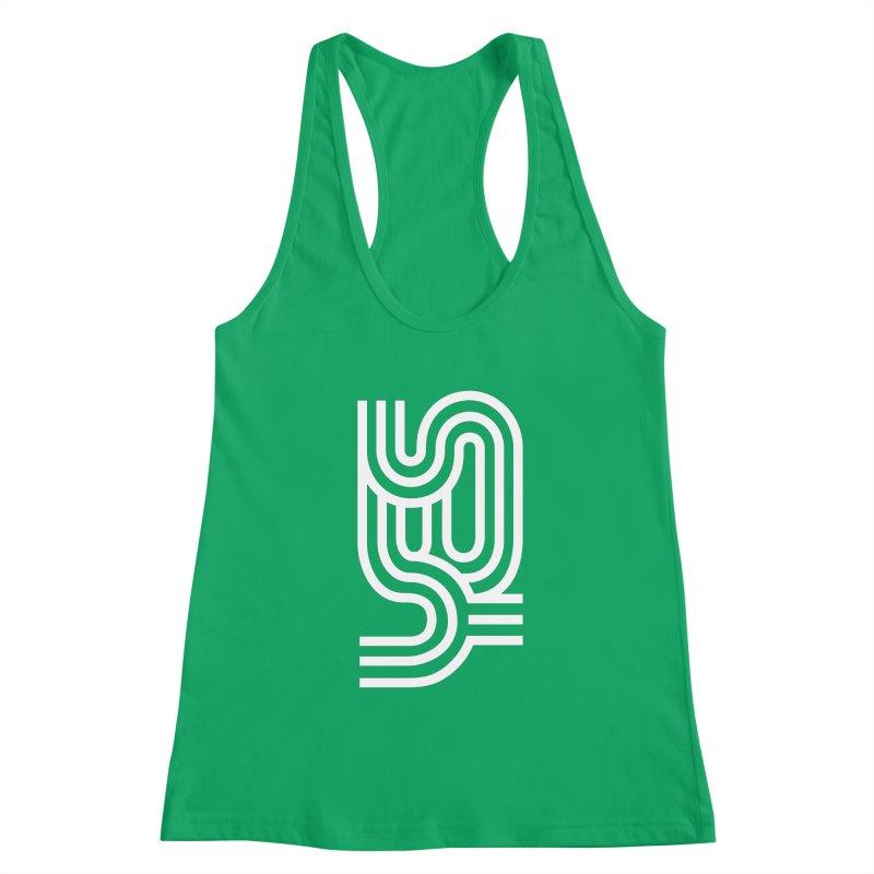 Yes Cool Typo |White Design Women's Tank by GRAFIXD'S SHOP
