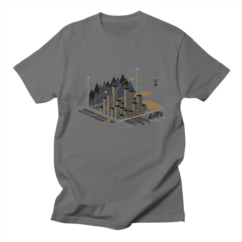 Stat City Men's T-Shirt by Graham Dobson