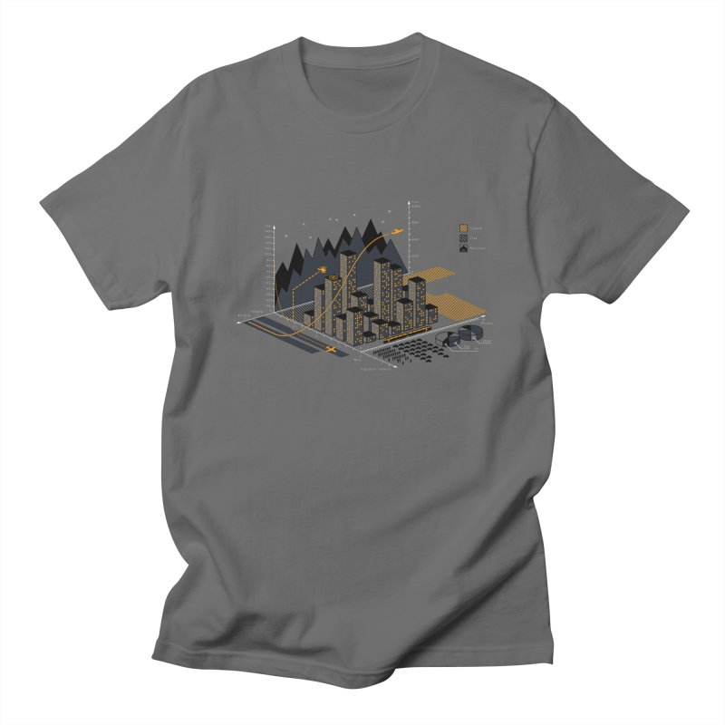 Stat City Men's T-Shirt by Graham Dobson