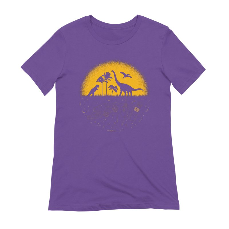 Fossil Fuel Women's Extra Soft T-Shirt by Graham Dobson