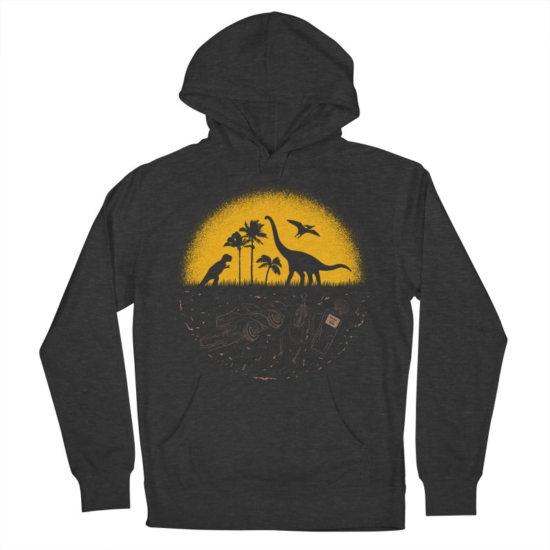 Fossil Fuel Men's French Terry Pullover Hoody by Graham Dobson