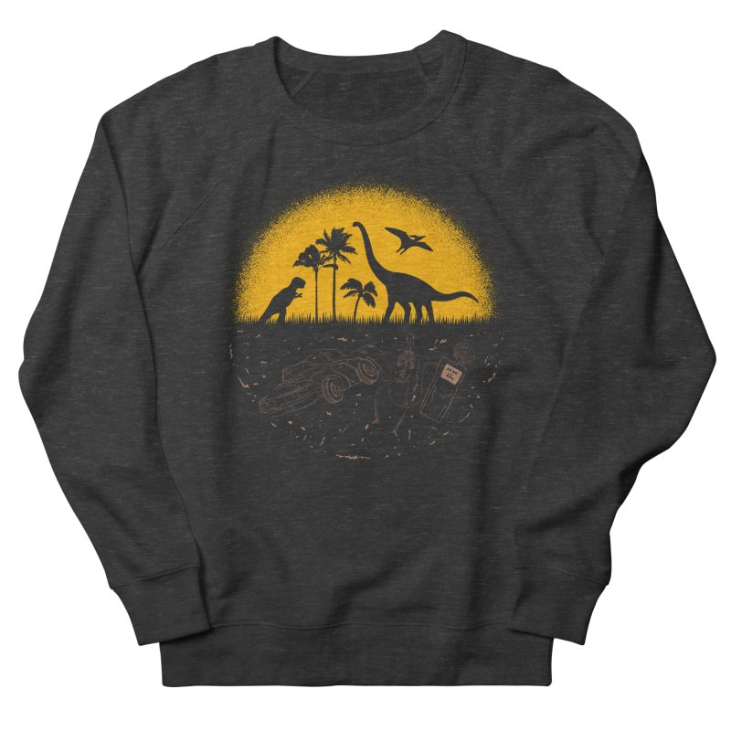 Fossil Fuel Women's French Terry Sweatshirt by Graham Dobson
