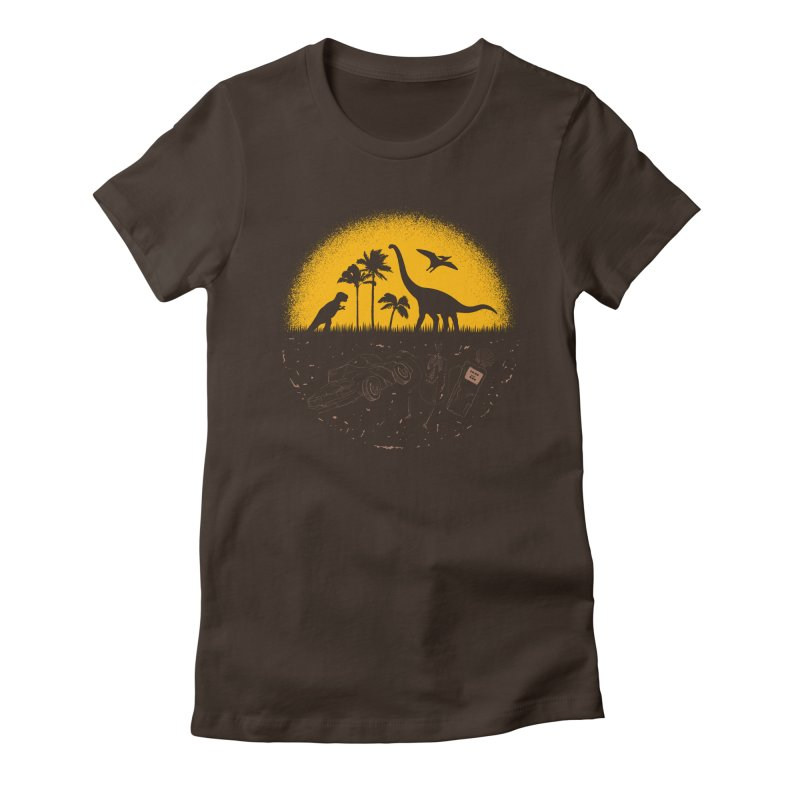Fossil Fuel Women's T-Shirt by Graham Dobson