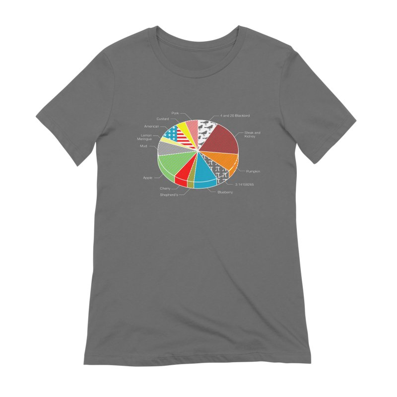 Pie Chart Women's Extra Soft T-Shirt by Graham Dobson