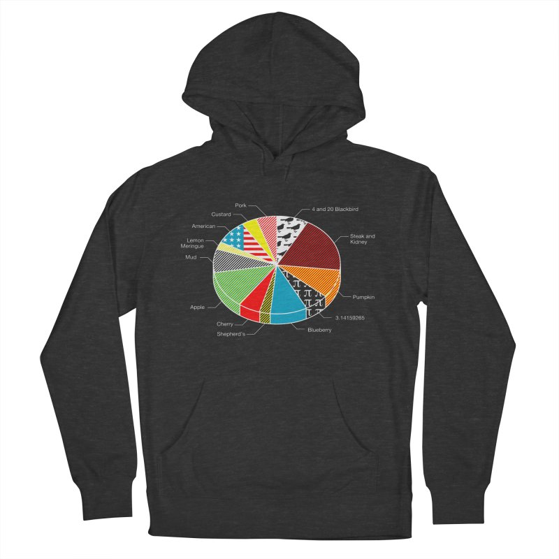Pie Chart Men's French Terry Pullover Hoody by Graham Dobson