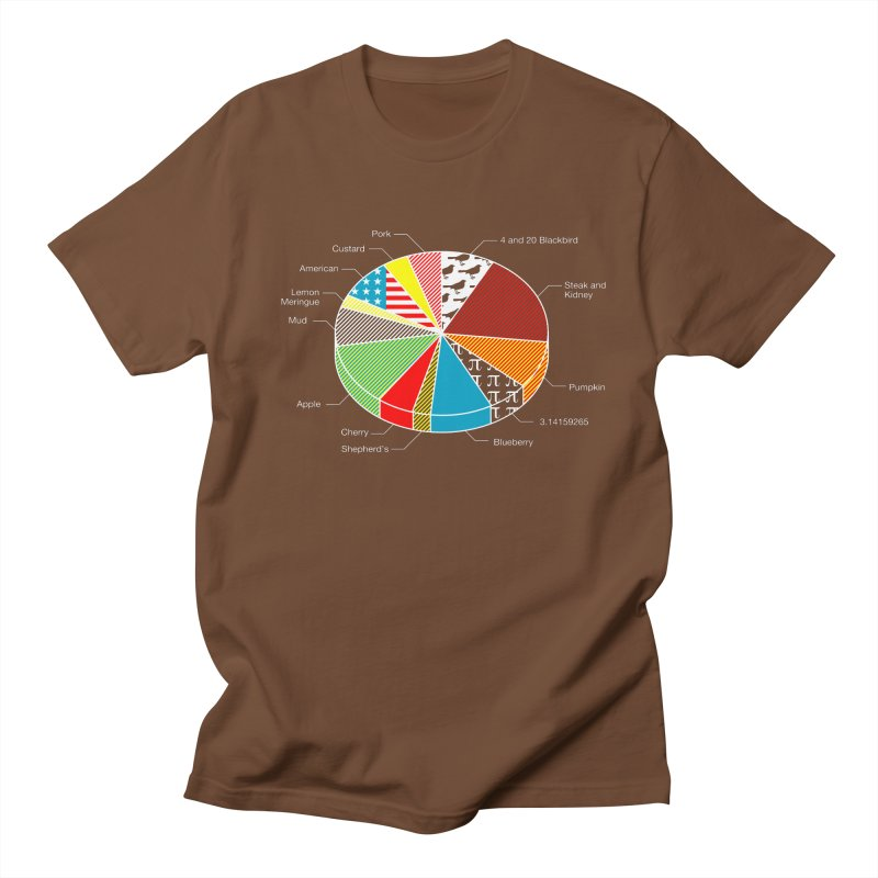 Pie Chart Men's T-shirt by Graham Dobson
