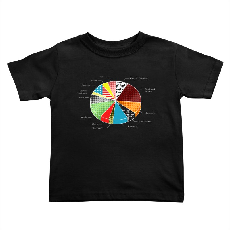 Pie Chart Kids Toddler T-Shirt by Graham Dobson