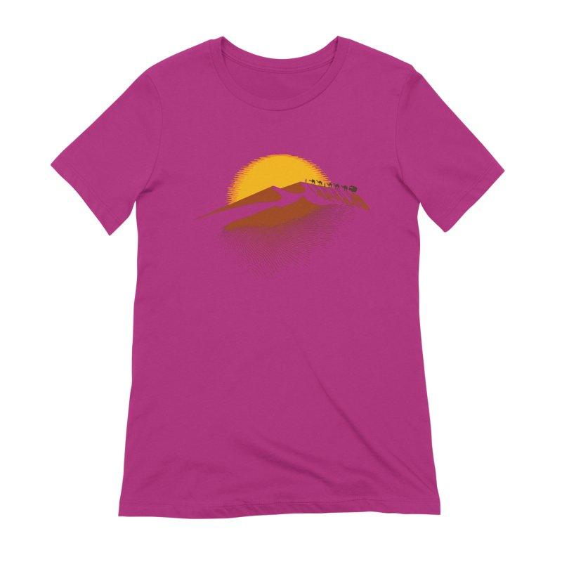 Caravan Women's Extra Soft T-Shirt by Graham Dobson