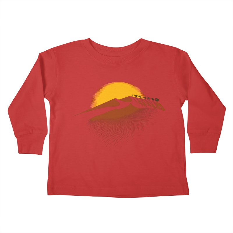 Caravan Kids Toddler Longsleeve T-Shirt by Graham Dobson