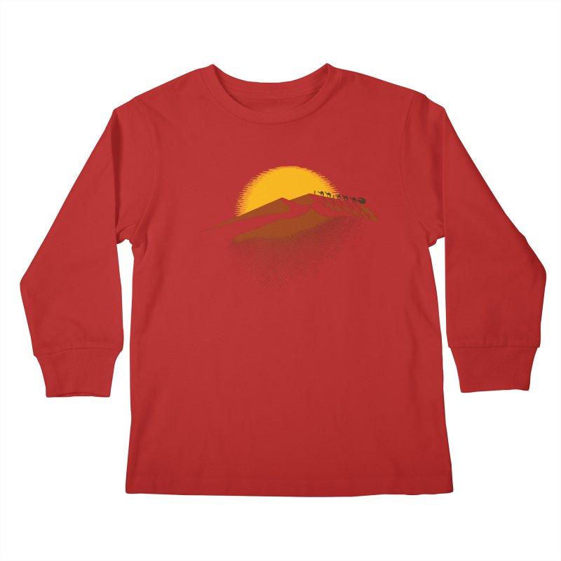 Caravan Kids Longsleeve T-Shirt by Graham Dobson