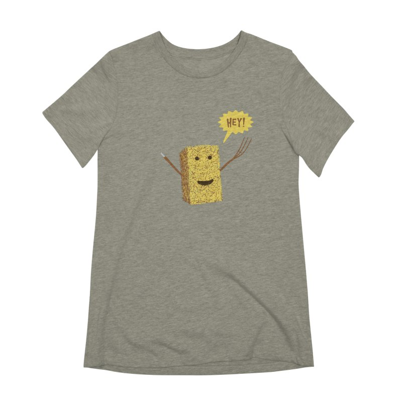 Hey! Women's Extra Soft T-Shirt by Graham Dobson