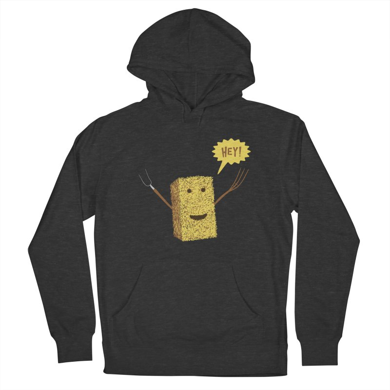 Hey! Men's Pullover Hoody by Graham Dobson