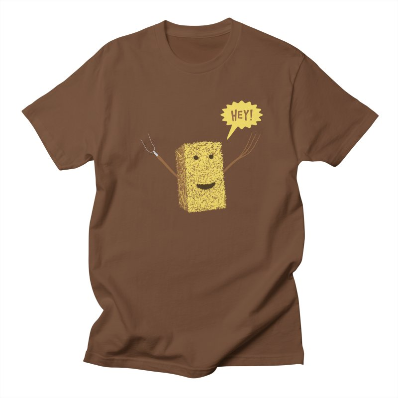 Hey! Men's T-Shirt by Graham Dobson