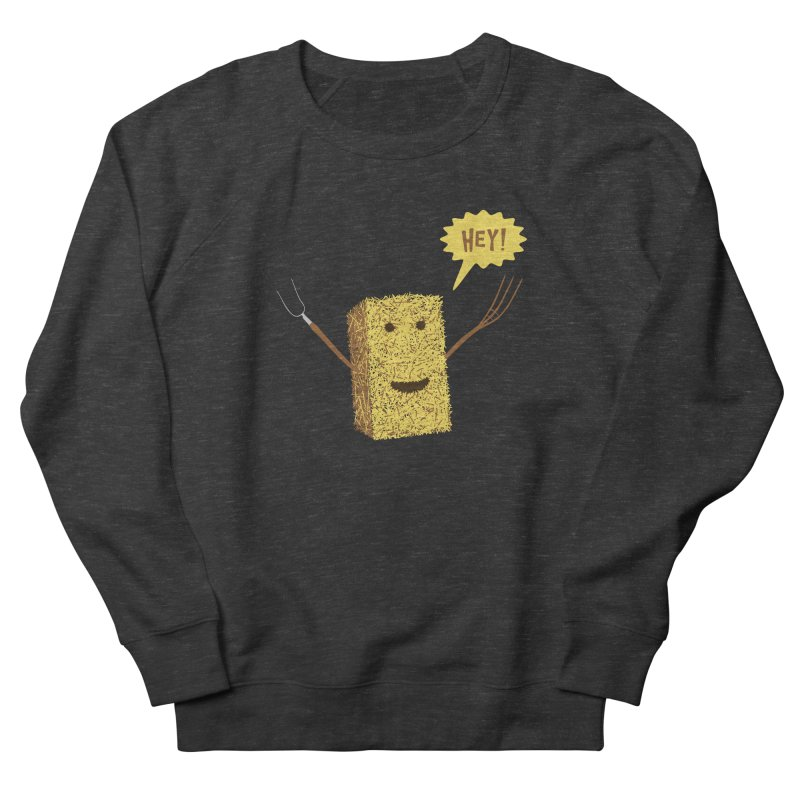 Hey! Men's French Terry Sweatshirt by Graham Dobson