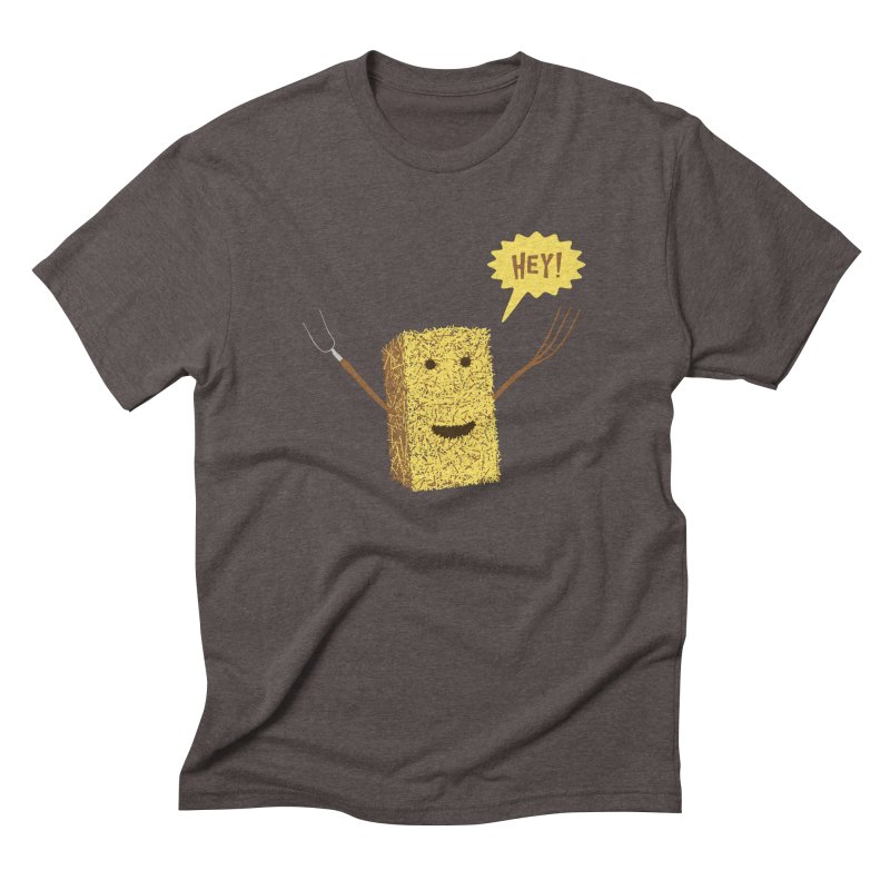 Hey! Men's Triblend T-Shirt by Graham Dobson