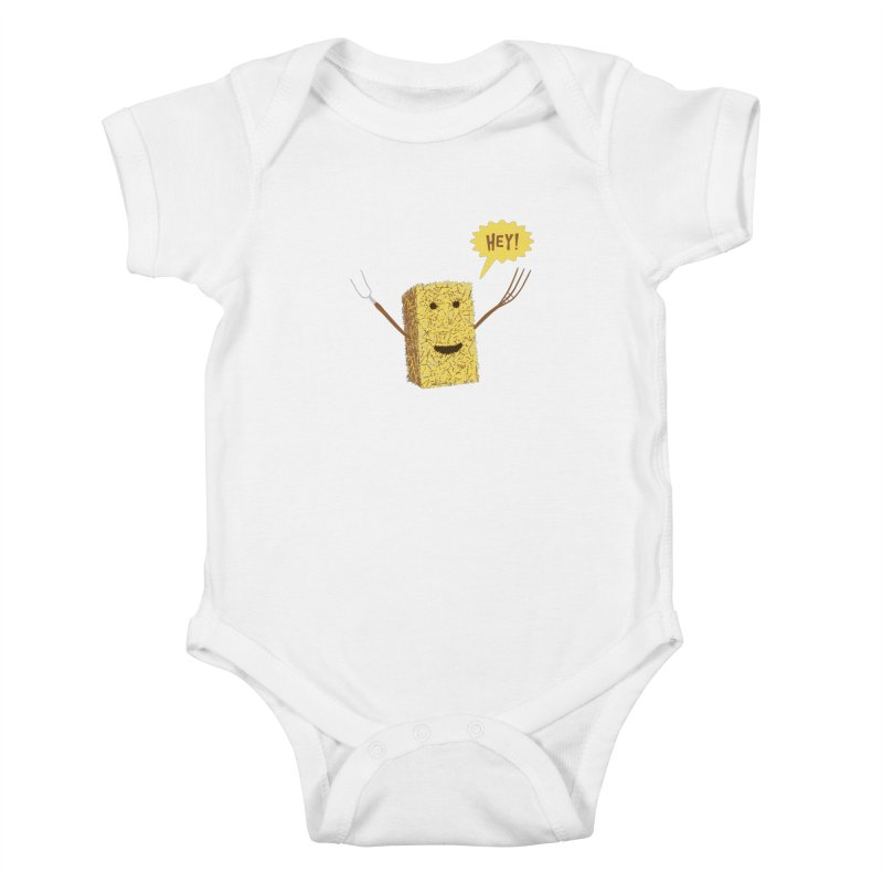 Hey! Kids Baby Bodysuit by Graham Dobson