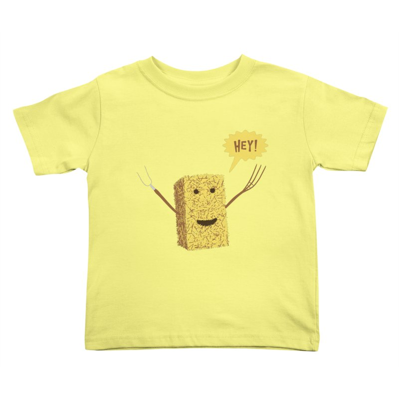 Hey! Kids Toddler T-Shirt by Graham Dobson