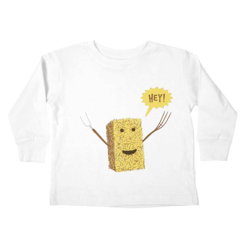 Hey! Kids Toddler Longsleeve T-Shirt by Graham Dobson