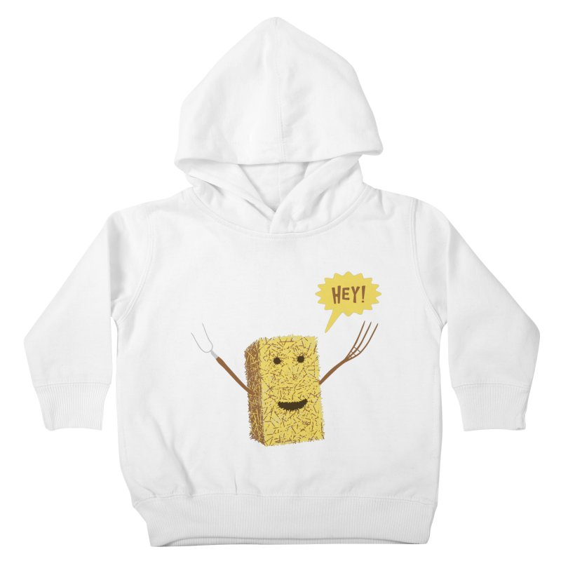 Hey! Kids Toddler Pullover Hoody by Graham Dobson