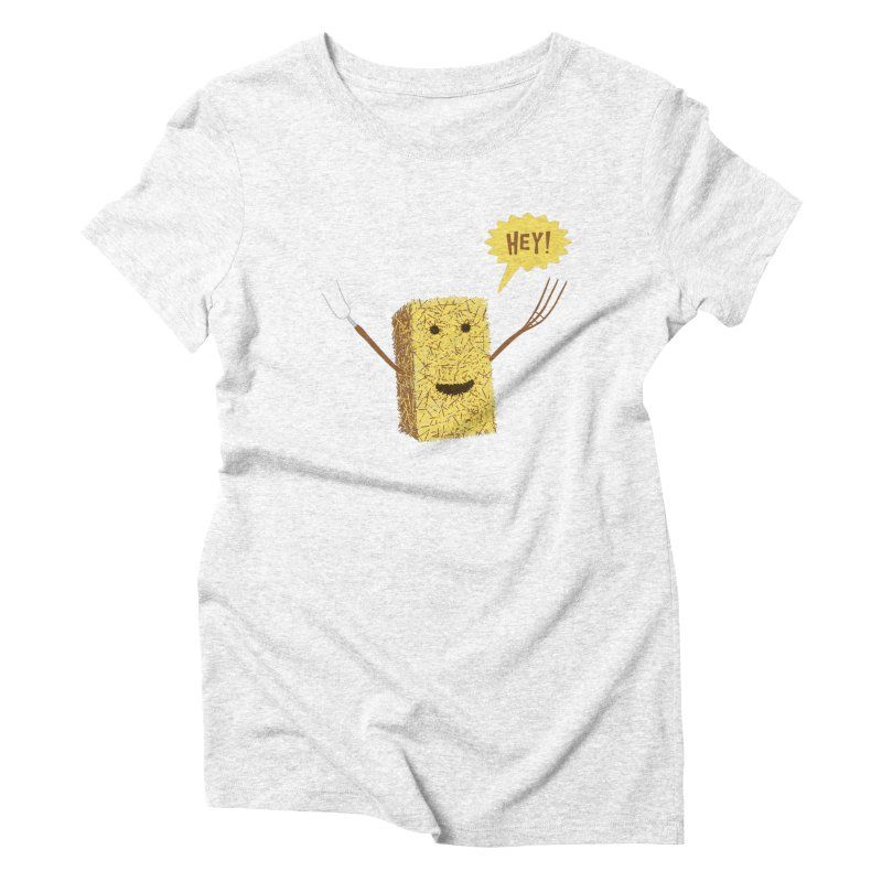 Hey! Women's Triblend T-shirt by Graham Dobson