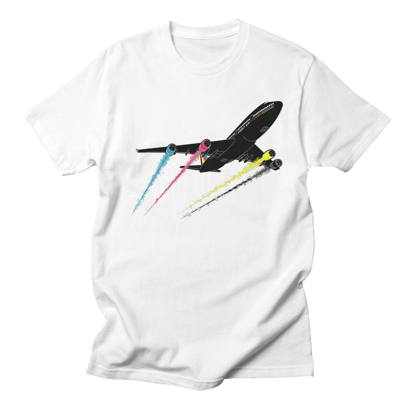 Ink Jet Men's T-shirt by Graham Dobson