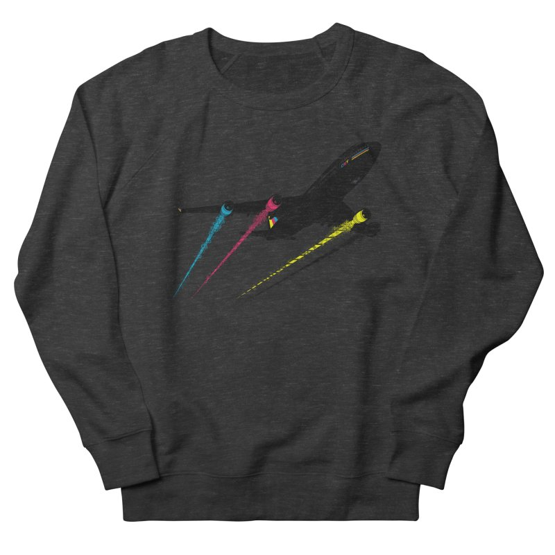 Ink Jet Men's French Terry Sweatshirt by Graham Dobson