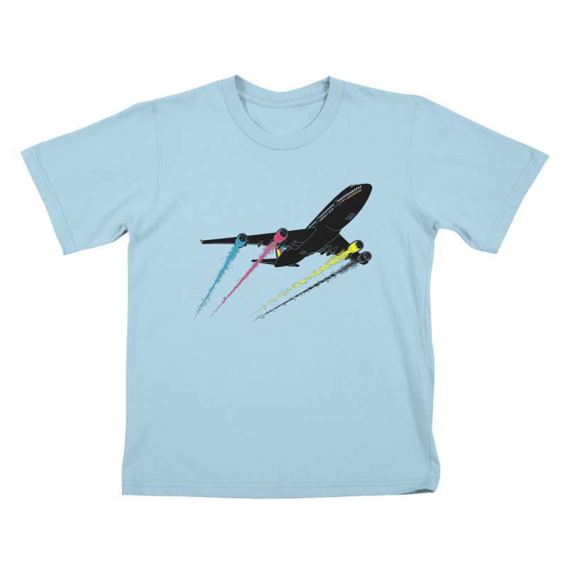 Ink Jet Kids T-Shirt by Graham Dobson