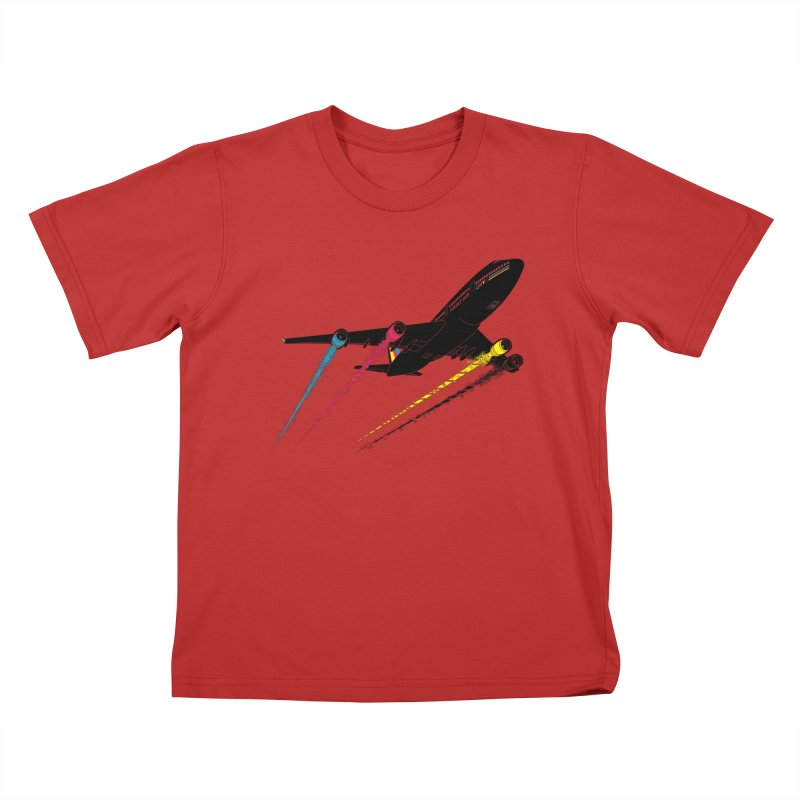 Ink Jet Kids T-Shirt by Graham Dobson
