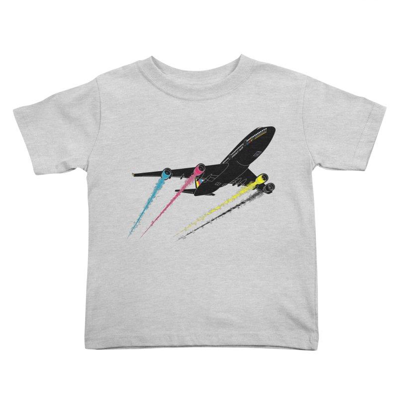 Ink Jet Kids Toddler T-Shirt by Graham Dobson