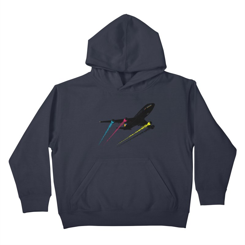 Ink Jet Kids Pullover Hoody by Graham Dobson