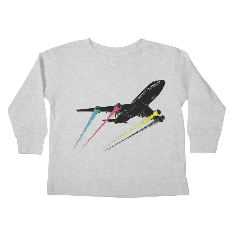 Ink Jet Kids Toddler Longsleeve T-Shirt by Graham Dobson