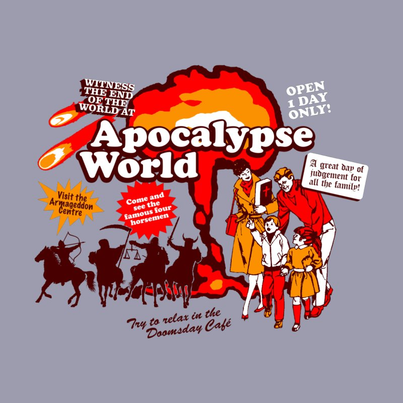 Apocalypse World Men's V-Neck by Graham Dobson