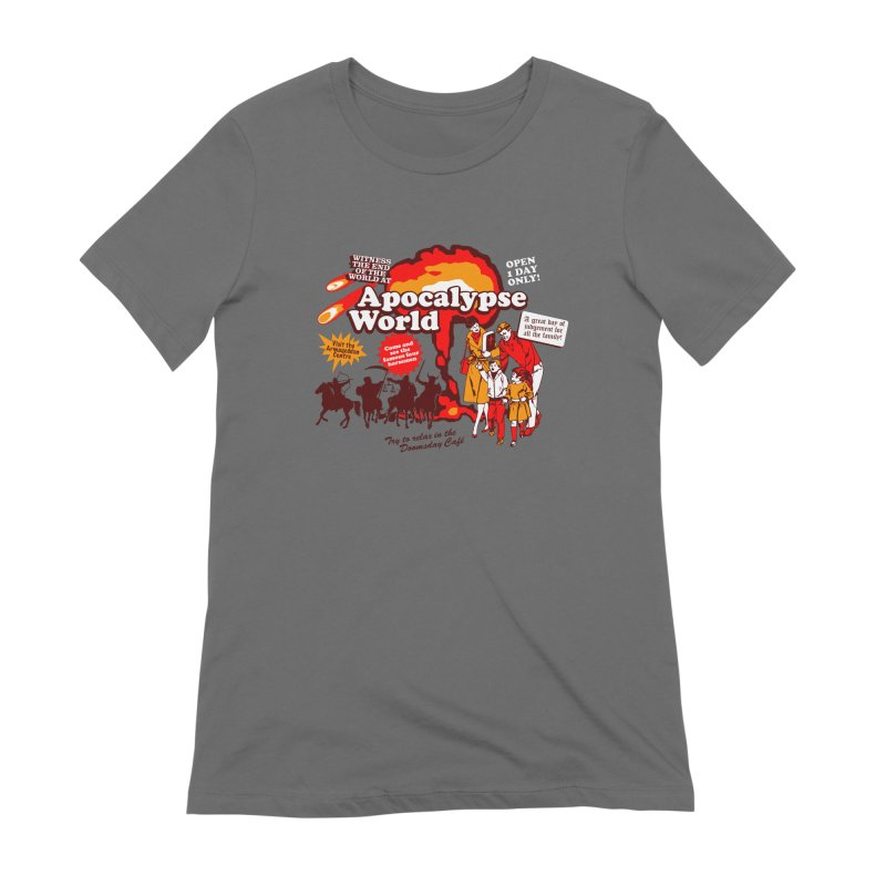 Apocalypse World Women's Extra Soft T-Shirt by Graham Dobson