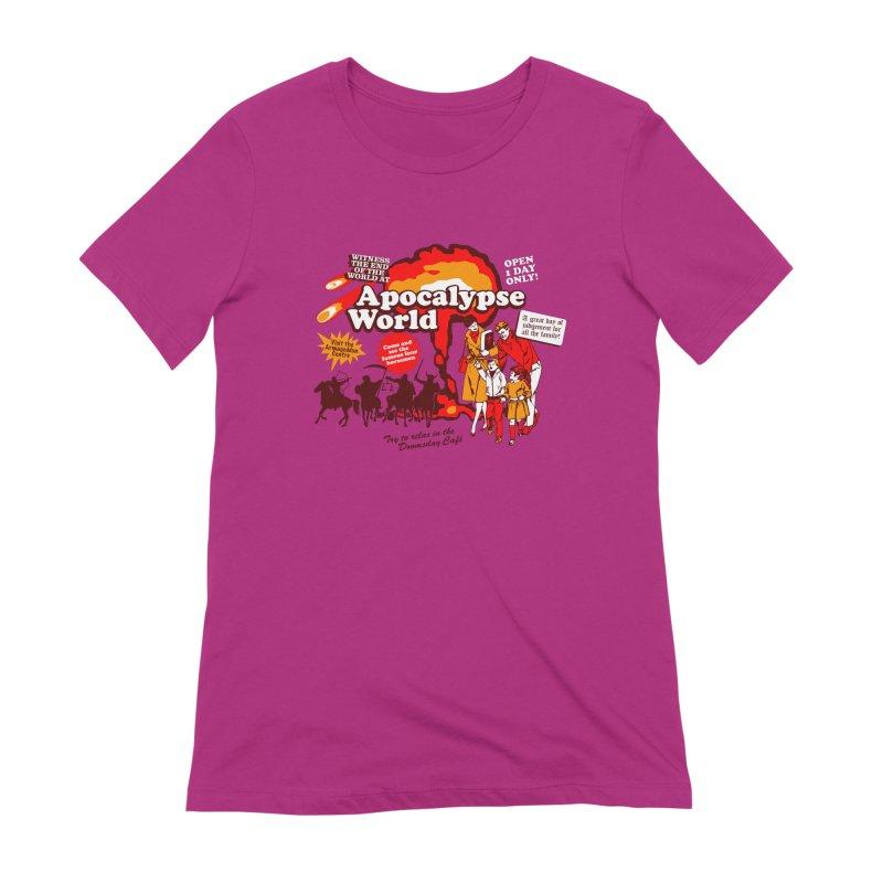 Apocalypse World Women's Extra Soft T-Shirt by Graham Dobson