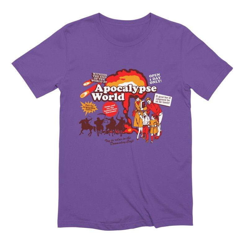 Apocalypse World Men's Extra Soft T-Shirt by Graham Dobson