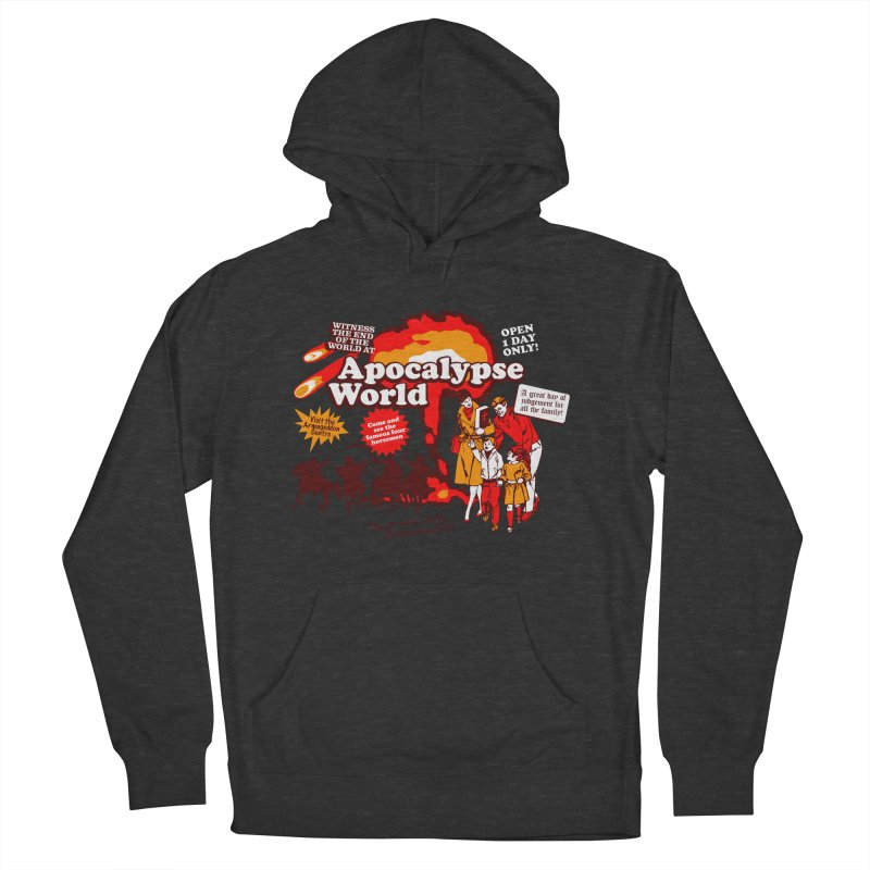Apocalypse World Women's Pullover Hoody by Graham Dobson