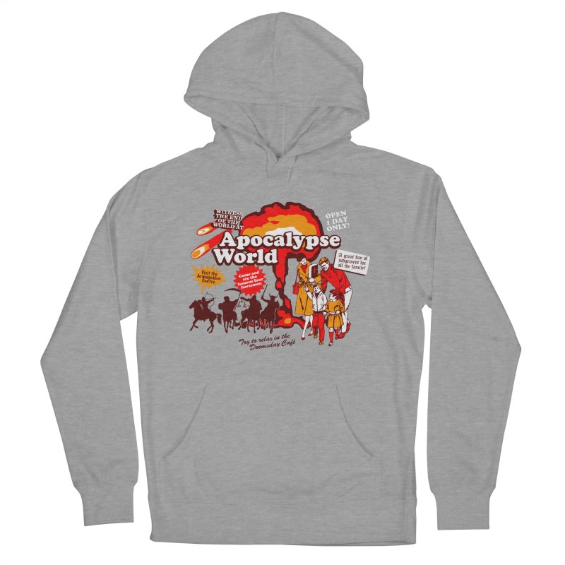 Apocalypse World Men's French Terry Pullover Hoody by Graham Dobson