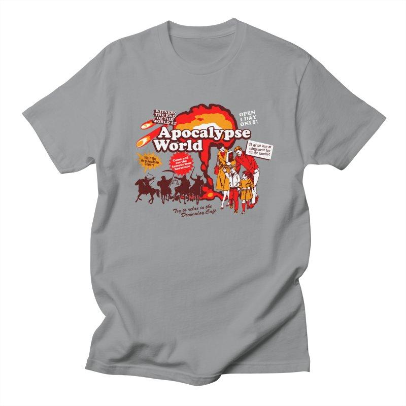 Apocalypse World Men's Regular T-Shirt by Graham Dobson
