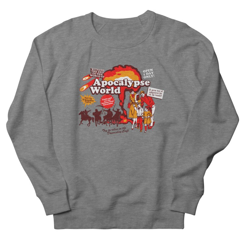 Apocalypse World Women's French Terry Sweatshirt by Graham Dobson