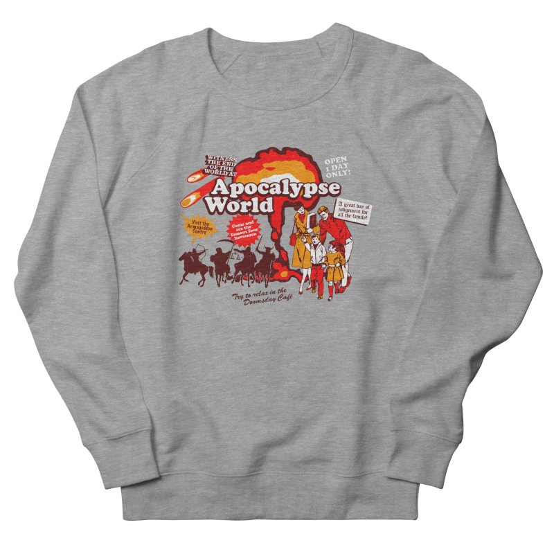 Apocalypse World Women's French Terry Sweatshirt by Graham Dobson