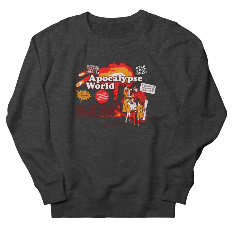 Apocalypse World Men's French Terry Sweatshirt by Graham Dobson